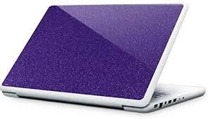 Amazon Com Skinit Decal Laptop Skin Compatible With Macbook 13 Inch Originally Designed Diamond Purple Glitter Design Electronics