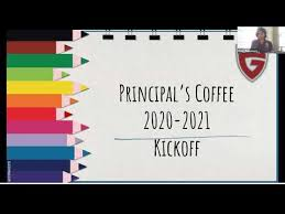 Grady HS Principal's Coffee 8.19.20 - YouTube