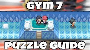 snowpoint city gym puzzle guide on