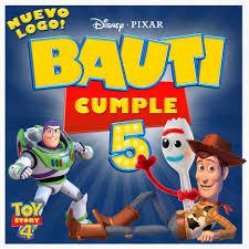 Invitacion De Cumpleanos Digital Animada Toy Story 4 Disney
