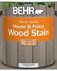 Amazing Deal On Behr 1 Gal Sc 154 Chatham Fog Solid Color House And Fence Exterior Wood Stain