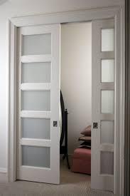 double pocket door doors interior and