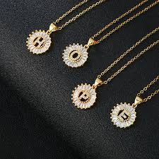 pendant necklace luxury gold color