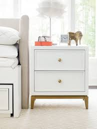 Legacy Classic Kids Chelsea By Rachael Ray Night Stand White With Gold Accents Cuddlebugzz