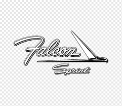 Falcon Sprint Logo Logo Ford Falcon Cobra Car Decal Falcon Emblem Text Sticker Png Pngwing