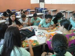 Primeiro sábado de Oficinas do III Sarau... - Escola Estadual Mª ...