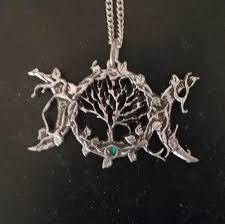 triple moon pagan wiccan tree