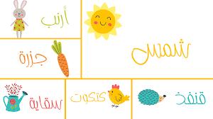 بوربوينت عن رياض الأطفال وتعليم نطق الأسماء ادركها بوربوينت