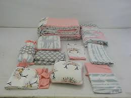 bedding geenny baby girl deer family 13
