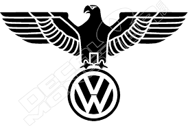 Vw Eagle Decal Sticker Decalmonster Com