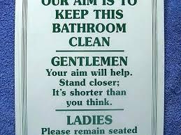 cute funny bathroom signs htie info
