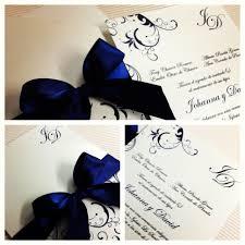 Invitacion Para Boda Azul Invitaciones De Boda Azul
