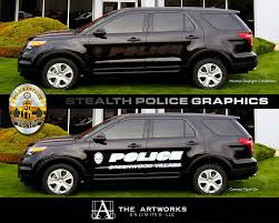 What Are Ghost Graphics Stealth Police Car Graphics