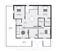 3 bedroom house plans in indian style