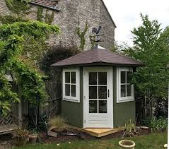 image result for corner garden shed