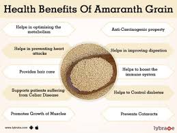 benefits of amaranth grain and its side