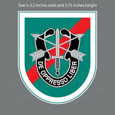 Ar 2042 Army 20th Special Forces Airborne Military Bumper Sticker Window Decal Ebay