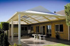 gable patio backyard beautiful roof