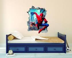 Iron Man Spiderman Wall Decal Egraphicstore