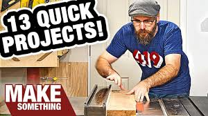 13 woodworking projects you can make as