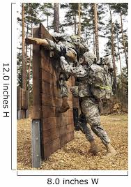 Us Army Soldiers Climb Wall Decal Wallmonkeys Com