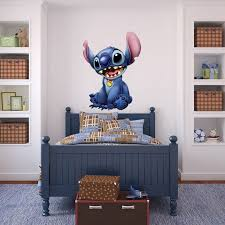 Lilo And Stitch Disney Movie Decal Removable Wall Sticker Home Decor Art Kids Lilo And Stitch Decal Wall Art Music Bedroom