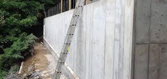 retaining wall repair charlotte fix