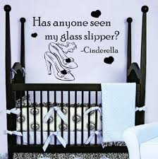 Wall Decals Quote Cinderella Has Anyone Seen By Walldecalswithlove