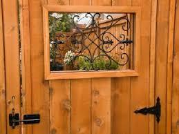 Cast Iron Gate Insert Fence Design Fence Gate Design Wooden Fence Gate