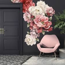 Beautiful Black White Rose Grey Rose Wall Mural Photo Wallpaper Giant Wall Decor