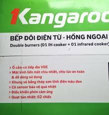 Bếp đôi điện từ hồng ngoại Kangaroo KG499i BH 12T - chodocu.com