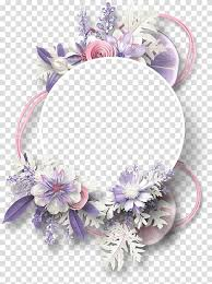 purple and pink fl template border