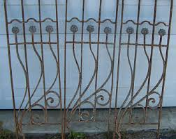 Antique Iron Panels Etsy