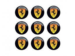 Ferrari Emblems And Decals