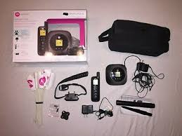 Motorola Wireless Dog Fence W Remote Trainer Pet Collar Portable Recharge Easy 555 50 Picclick