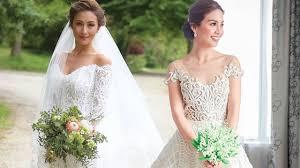beautiful celebrity wedding dresses