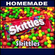 homemade skittles 50g