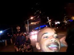 Taking a bike taxi to the gaslamp in san diego - YouTube