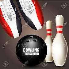 Bowling Shoes Skittle And Ball Invitacion Al Torneo De Bolos O