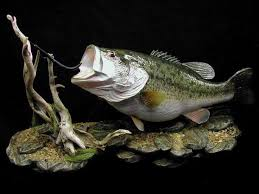 mount fiberglass fish replica the fish