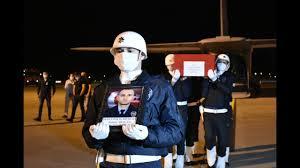 Şehit polis memuru Atakan Arslan'ın cenazesi Samsun'a getirildi ...