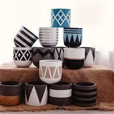 pot ceramic planters home pottery clay