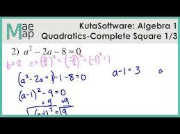 kuta algebra 1 solving
