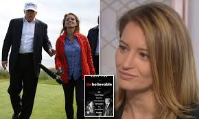 Katy Tur describes receiving an unwelcome kiss from Trump | Daily Mail  Online