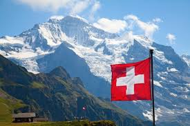 Largest Swiss flag in the world damaged by torrential rain in the ...