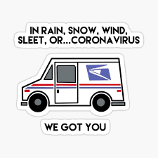 Usps Stickers Redbubble