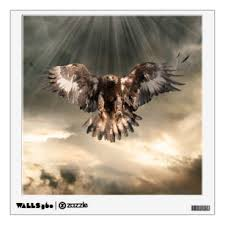 Eagle Wall Decals Stickers Zazzle