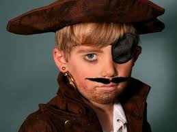 kid s makeup tutorial pirate