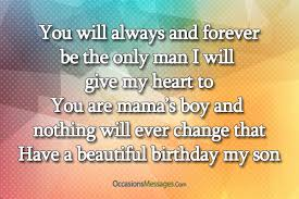 amazing birthday wishes for son from mother