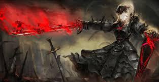 fate saber dark alternative 黒セイバー